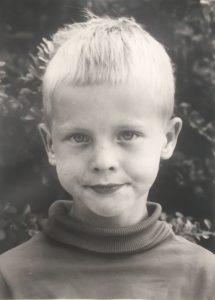 Kenneth som barn