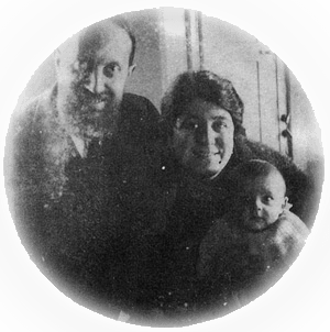 Roberto Assagioli med familie