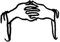 velsignelse og hændernes anvendelse