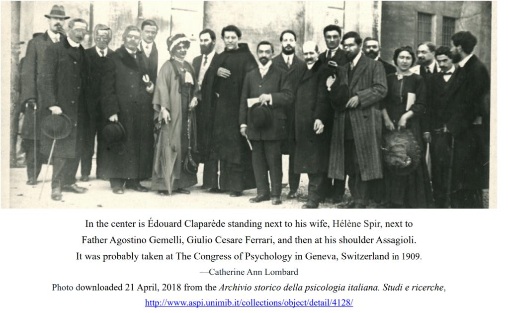 Assagioli 1909