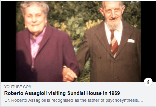 Video with Assagioli and wife visiting Sundial House