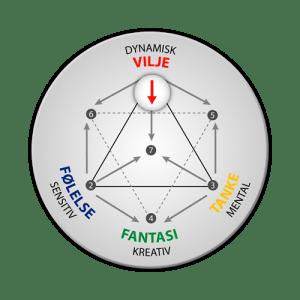 Energityper: integration af viljen