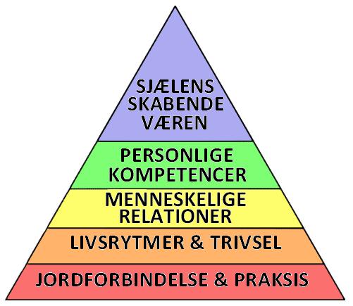 De fem niveauer