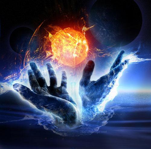 syv stråler og meditation