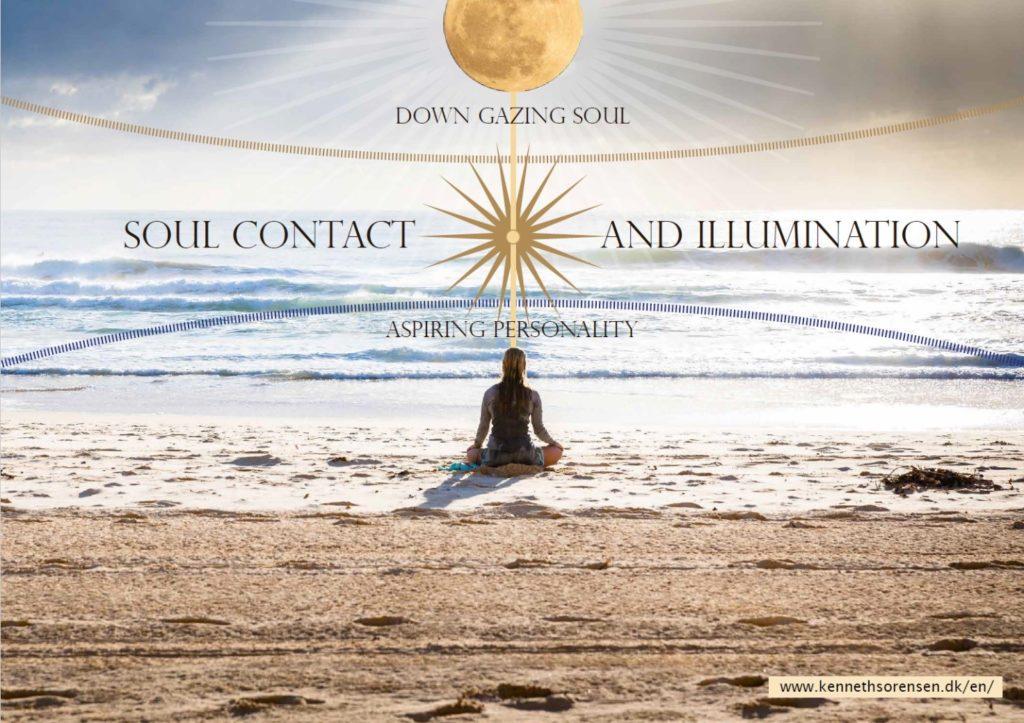 Soul contact at full moon meditation